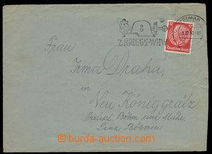 23939 - 1940 KT BUCHENWALD  dopis zaslaný českým vězněm KT, DR