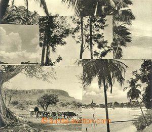 23977 - 1940? Německo - koloniální vydání, sestava 6ks čb. poh