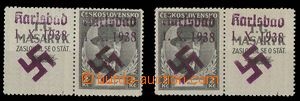 24059 - 1938 Pof.325KL+P with karlovarským overprint, marked as for