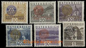 24089 - 1931 Rotary Mi.518-523, superb, c.v.. 700€