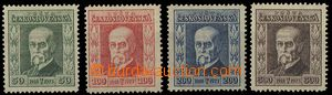24191 - 1923 Pof.176-179, all carton, wmk 7, 8, 6, 6, mint never hin