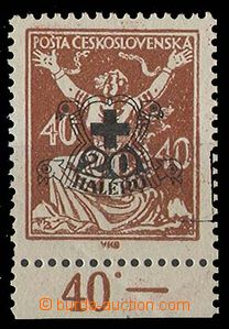 24197 -  plate proof with black additional-printing A on/for issue C