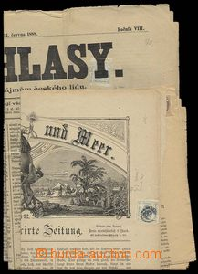 24237 - 1847 - 91 comp. 4 pcs of whole newspapers with revenues, 1x