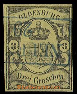 24322 - 1861 Mi.8, luxusní kus, kat. 750€