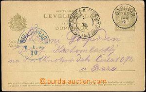24393 - 1903 dopisnice Mi.P30, 5fil., DR Daruvár 903JAN.6, středis