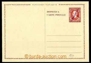 24444 - 1945 CDV-VI., Hlinka 1,50 Koruna, hand-made violet overprint