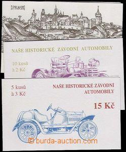 24488 - 1993 - 94 ZS12 + ZS29-30 Cars, c.v.. 490 CZK