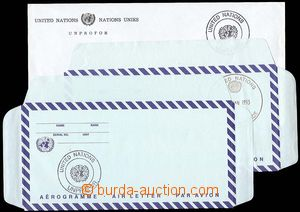 24499 - 1993 CZECH REPUBLIC  2x Un envelope with cancel. UNPROFOR +