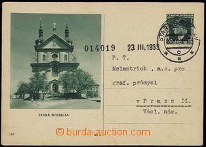 24517 - 1939 CDV72/141 Stará Boleslav, DR STARÁ BOLESLAV 23.III.39,