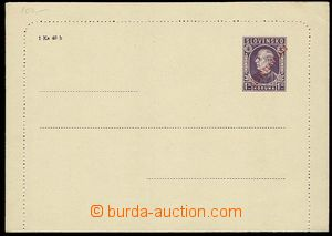 24658 - 1945 CZL4a, overprint typography, size middle line 111,5mm,