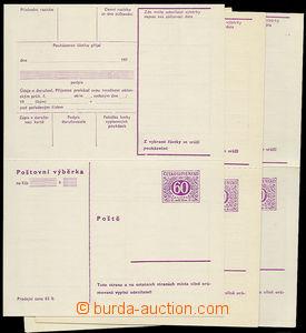 24680 - 1966 CPV32, sestava 5 různých druhů: CPV32g (přeloženo)