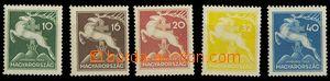 24725 - 1933 skaut. Jamboree 1933, Mi.511 - 515, pěkné, kat. 34€
