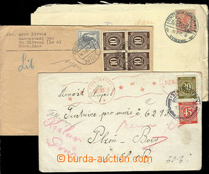 24801 - 1947 - 48 3  pcs letters sent from occupied Germany to priso