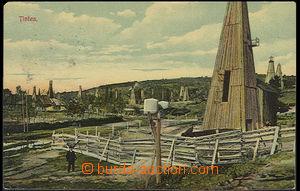 24802 - 1911 TINTEA - ropná pole, těžební věže, barevná, pro�