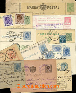 24805 - 1875 - 40 comp. 12 pcs of p.stat, from that 1x letter-card,
