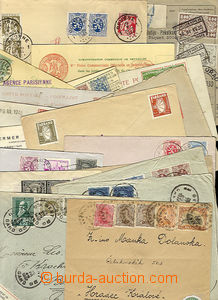 24815 - 1895 - 48 interesting selection of 22 pcs of various entires