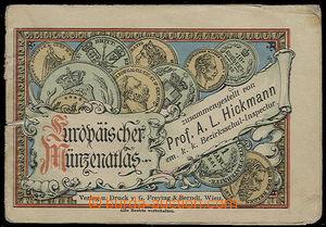 24893 - 1900 Europänischer Münzenatlas, contemporary picture atlas