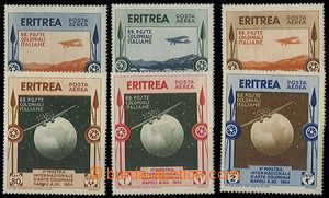 24909 - 1934 ERITREA, Italian colony/-ies, airmail stmp Mi.227 - 232