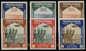 24911 - 1934 TRIPOLITANIA, italská kolonie, letecké známky Mi.229