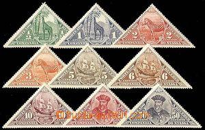 24913 - 1924 NYASSA  Mi.1 - 9, námět Vasco da Gama, doplatní troj
