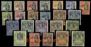 24917 - 1922 Mi.93-115, Sloni, kompl. série, stopa po nálepce, kat