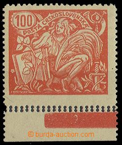 25002 -  100h , Pof.173A T II. with lower margin and double perf.