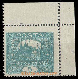 25087 -  Pof.4F IIp, 5h blue-green, UR corner piece with bar subtype