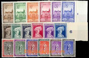 25089 - 1936 - 37 comp. of 3 complete sets, Mi.290-95, 296-301, 303-
