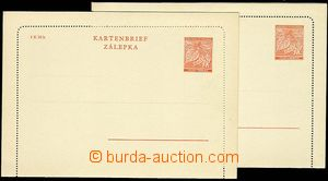 25098 - 1939 CZL1, 2 pcs of lighter and deeper print, 1 pcs of ca. 1