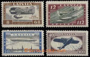 25106 - 1933 Mi.228-231A, lightly hinged, c.v.. 250€