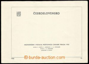 25120 - 1955 Pof.A853/857A + Pof.A853/857B on/for commemorative page
