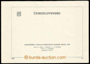 25120 - 1955 Pof.A853/857A + Pof.A853/857B na nálepních listech s