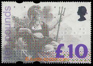 25143 - 1993 Mi.1445, £10, without gum