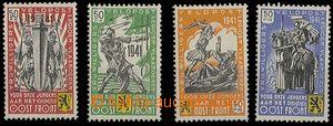 25161 - 1941 BELGIE / FLÄMISCHE LEGION  Mi.I-IV, kompl. série, kat