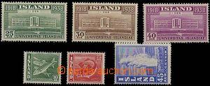 25166 - 1938 Mi.200 - 202, luxusní, kat. 24€, navíc Mi.215 - 217