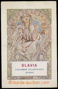25172 - 1930 MUCHA Alfons (1860–1939), Slavia (Weill.126); Un, pre