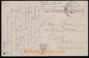 25181 - 1919 Czech-Slovak Rifle Rgt. No.29 + CDS Poprad 919.Aug.20.