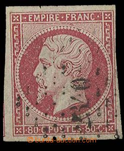 25230 - 1853 Mi.16c, numeral pmk 2340, wide margins, cat. min. 60€