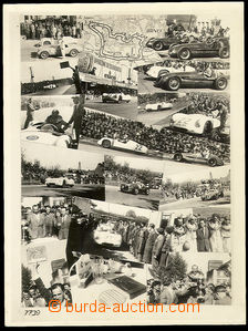 25258 - 1950? MOTORSPORT, Grand Prix Brno, racing cars Tatra, big ph