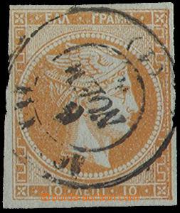 25273 - 1861 Mi.12/IIa, slušně zastřiženo, kat. 130€
