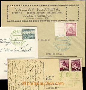 25427 - 1939 3ks celistvostí s PR9 (Hanácké jarmak), PR22 (Za nov