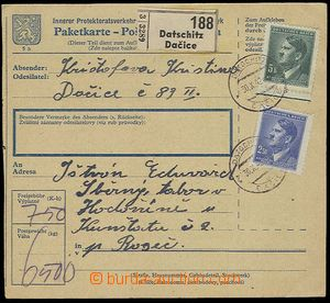 25620 - 1942 C.C. HODONÍN  larger part parcel of dispatch-note addr