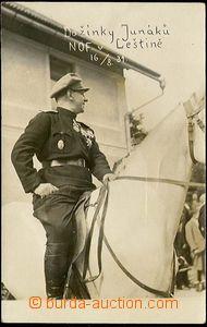25627 - 1931 Gen. Gajda, National Fascist League, photo from harvest
