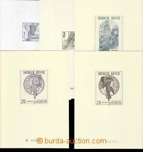25665 - 1993 5ks různých příležitostných tisků Merkur Revue.