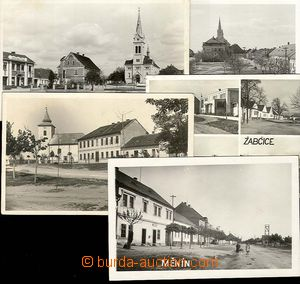 25778 - 1930 5 pcs of photo postcard to y 1945, 2x ŠARATICE, 2x MĚ