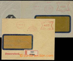25878 - 1945 Bohemian and Moravian (!) frankotype PLZEŇ LKW/ 18.6.4