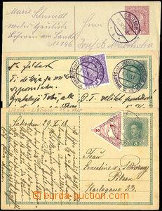 25938 - 1918 CPŘ3 2x + CPŘ5Pa,  použité v říjnu a listopadu 19