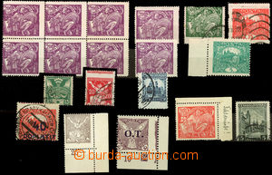 26056 -  selection 19 pcs of stamps various issues, from that 1x blo