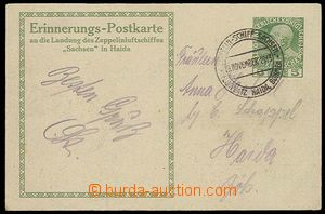 26071 - 1913 AUSTRIA  view card with imprinted stamp issued to fligh