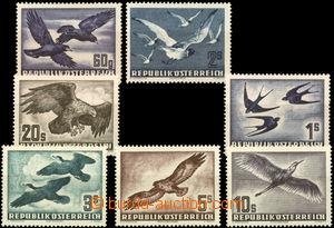 26072 - 1950 - 1953 airmail stmp Mi.955 - 956, Mi.968, Mi.984 - 987,